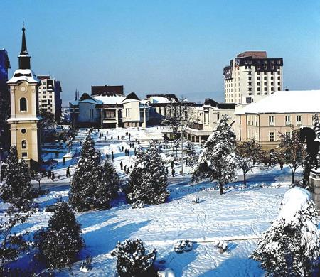 Targu Mures iarna