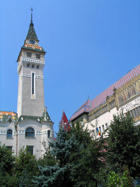 Clock Tower -- Prefectura Targu Mures