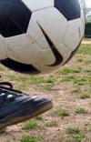 Bouncing a soccer ball