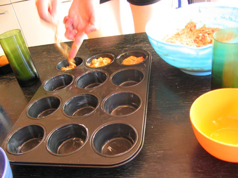 Muffin making